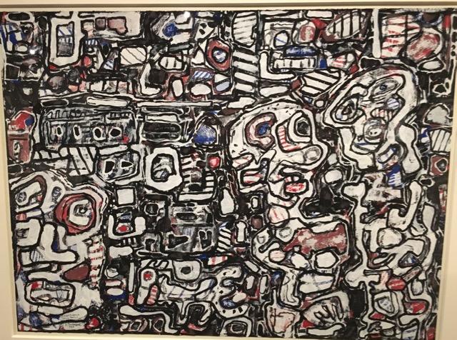 """Jean Dubuffet, """"Ducasse"""" 1965"""