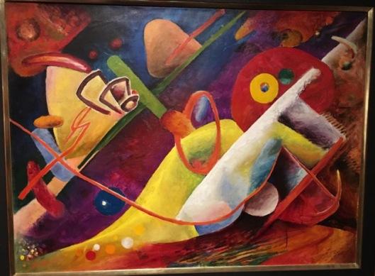 """Rudolf Bauer, """"Sinfonie 23"""", 1916"""