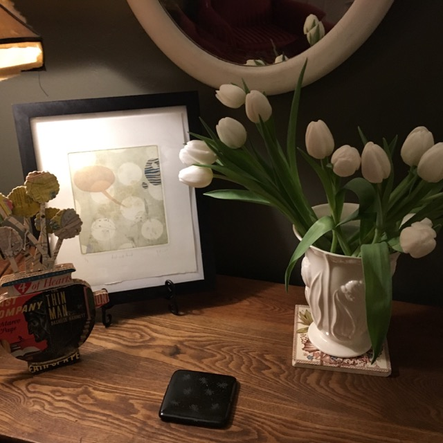 Tulips in the house