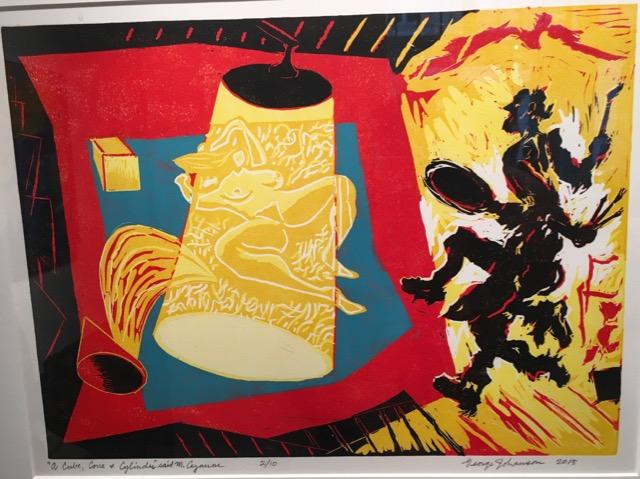 """'A Cube, a Cone, a Cylinder' said M. Cezanne"""