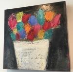 writing vase