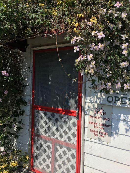 trip cafe door