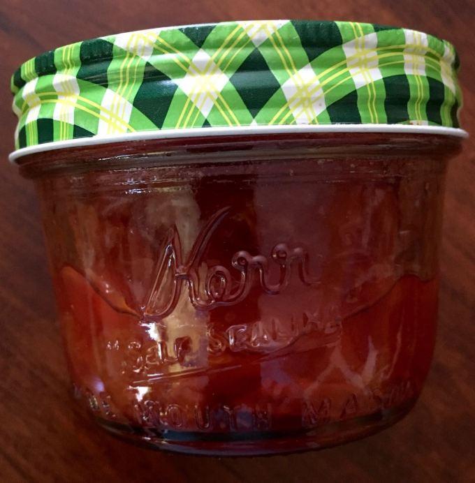 San's cherry jam