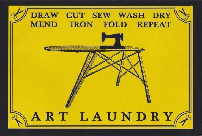 Art Laundry card piece